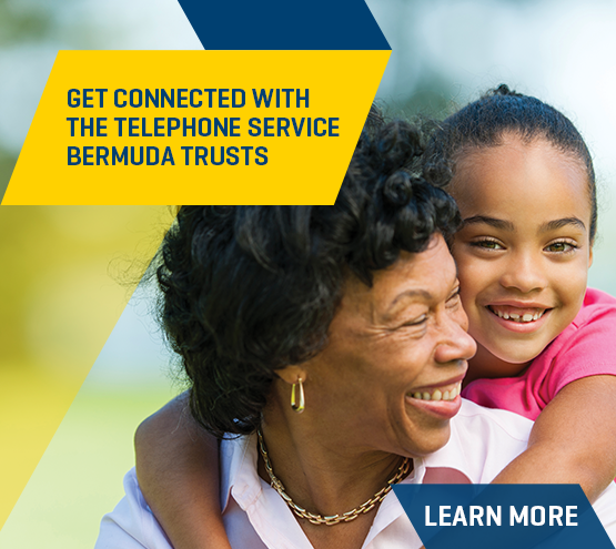 Get connected with the telephone service Bermuda trusts